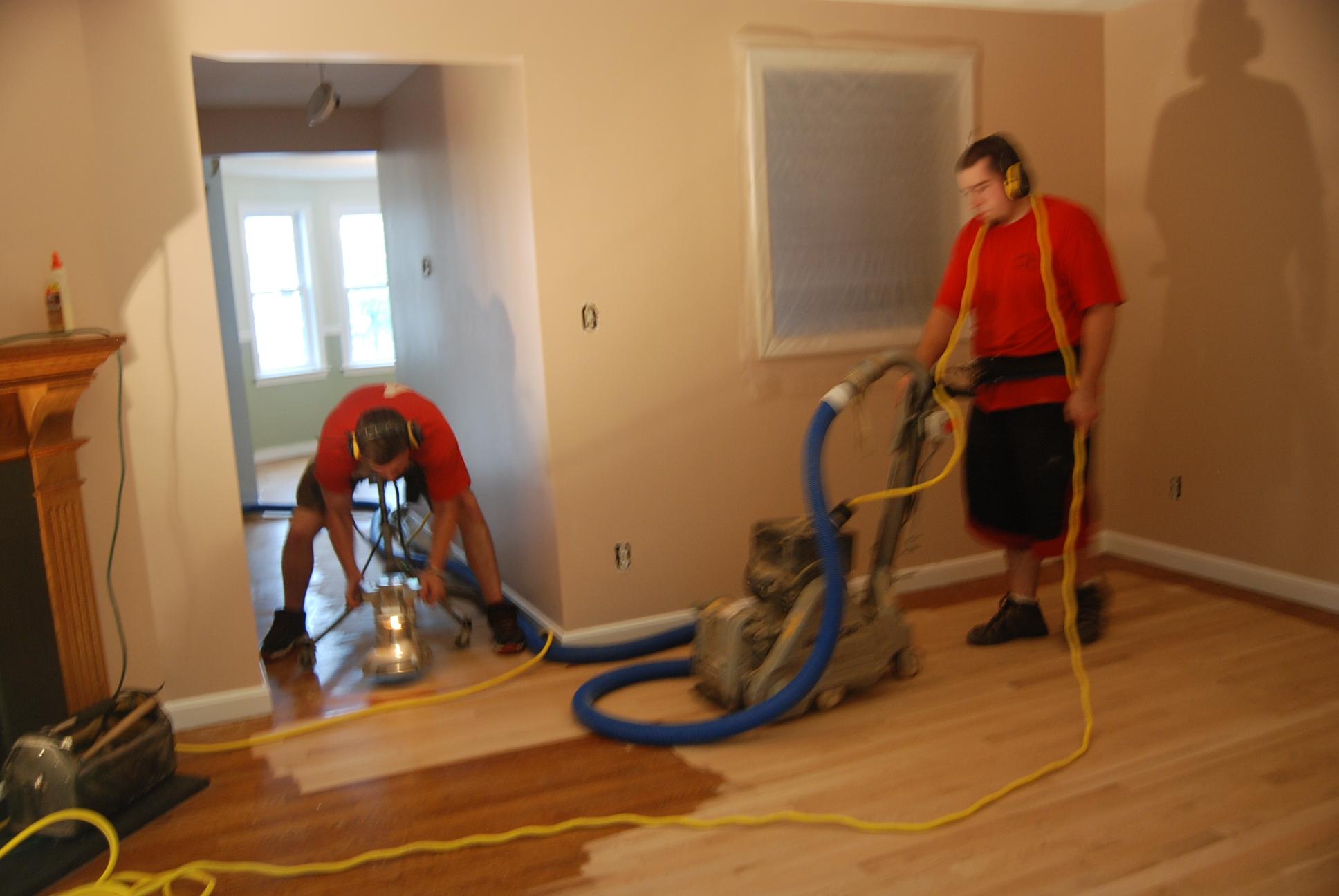 Dustless sanding hardwood floors carpet review for Floors for less reviews